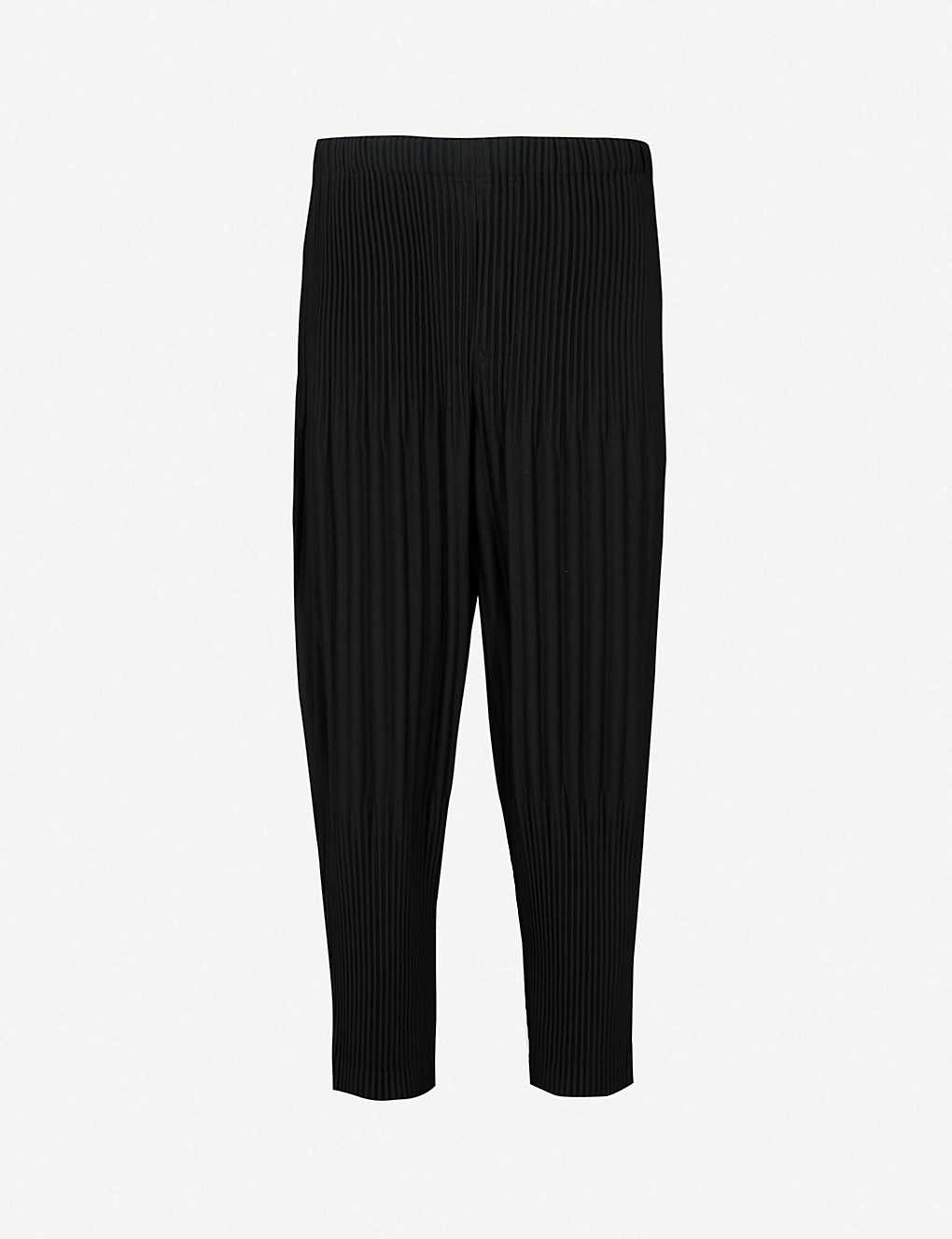ffa8173ae HOMME PLISSE ISSEY MIYAKE - Relaxed-fit pleated crepe trousers ...