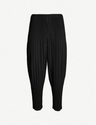 HOMME PLISSE ISSEY MIYAKE Balloon loose-fit pleated trousers