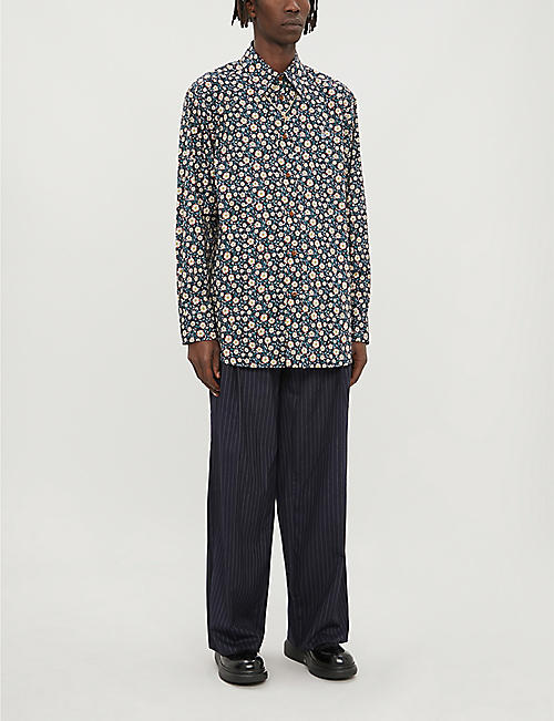 VIVIENNE WESTWOOD Liberty Flower floral-print cotton shirt