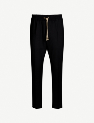VIVIENNE WESTWOOD Regular-fit tapered wool trousers