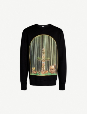 LOEWE Window Totem cotton-jersey sweatshirt