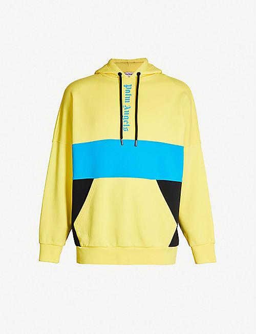 5fa0533513e23c PALM ANGELS Logo-print cotton-jersey hoody