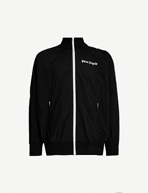PALM ANGELS Logo-print shell jacket