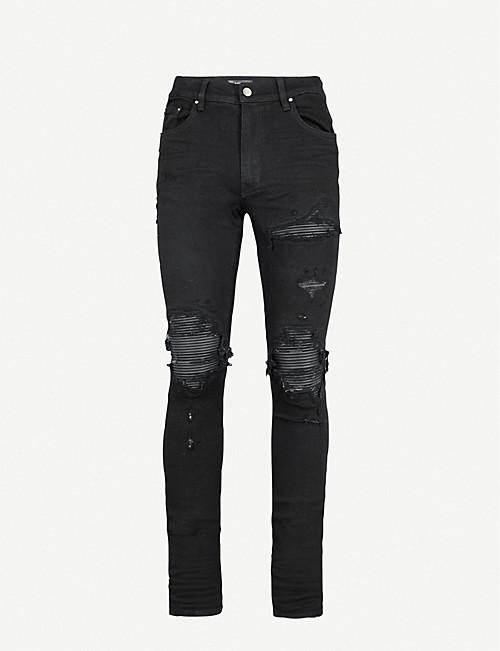 63240ab5be7d09 Distressed - Jeans - Clothing - Mens - Selfridges   Shop Online