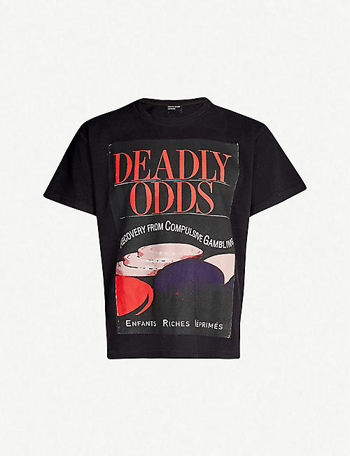 ENFANTS RICHES DEPRIMES Deadly Odds cotton T-shirt