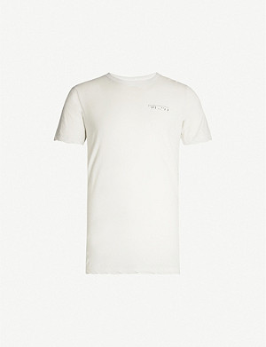 UNRAVEL Logo-print cotton-jersey T-shirt