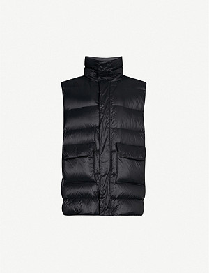 UNRAVEL Open back shell gilet