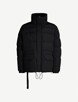UNRAVEL Padded shell-down jacket