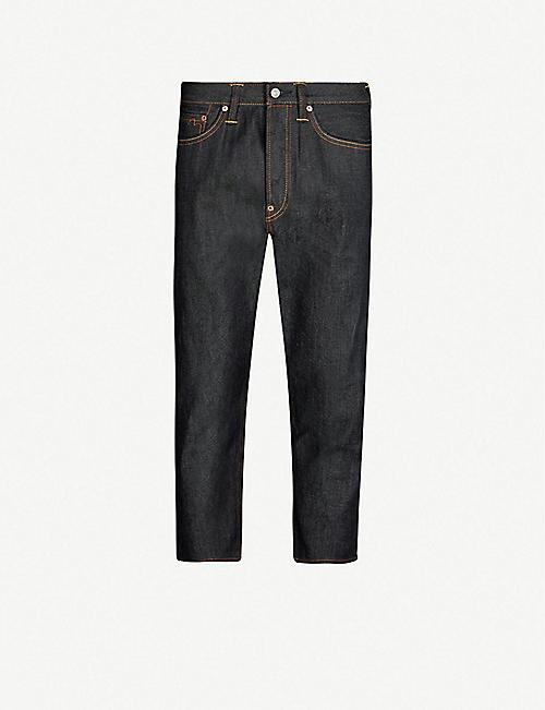4dd8ff41a394 EVISU Darauma regular-fit low-rise cropped jeans