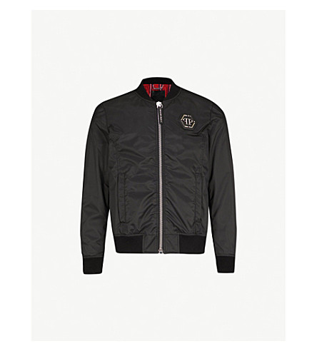 2edb8c3935 PHILIPP PLEIN - Tiger-print shell bomber jacket | Selfridges.com