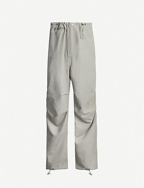 032C Rave relaxed-fit tapered shell jogging bottoms