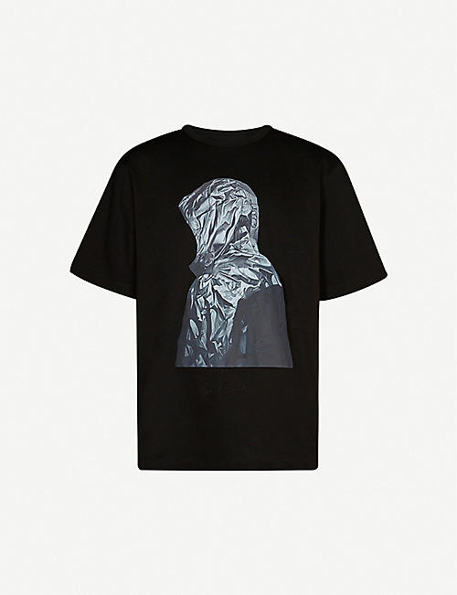 JUUN J Graphic-print cotton-jersey T-shirt