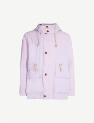 ACNE STUDIOS Odell drawstring cotton hooded coat