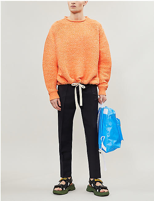 ACNE STUDIOS Ryder cotton-crepe trousers