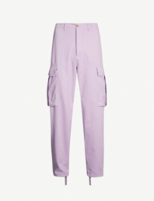 ACNE STUDIOS Patch-pocket regular-fit straight cotton trousers