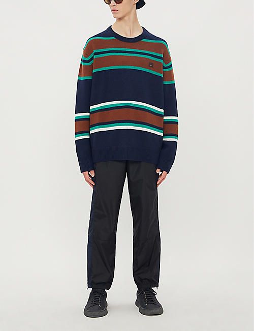 ACNE STUDIOS Relaxed-fit shell jogging bottoms