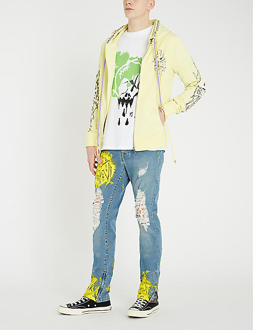 MJB - MARC JACQUES BURTON Graphic-print cotton-jersey T-shirt