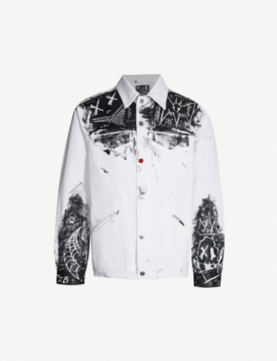 MJB - MARC JACQUES BURTON Painted denim jacket