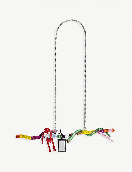 WALTER VAN BEIRENDONCK Paradise bead necklace
