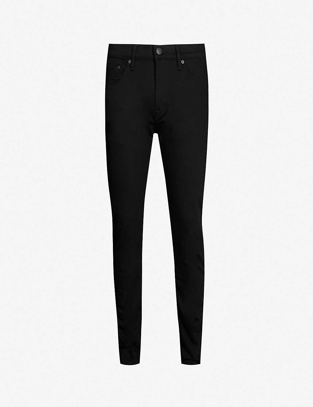 2ff65d5a BURBERRY - Slim-fit tapered stretch-denim jeans | Selfridges.com