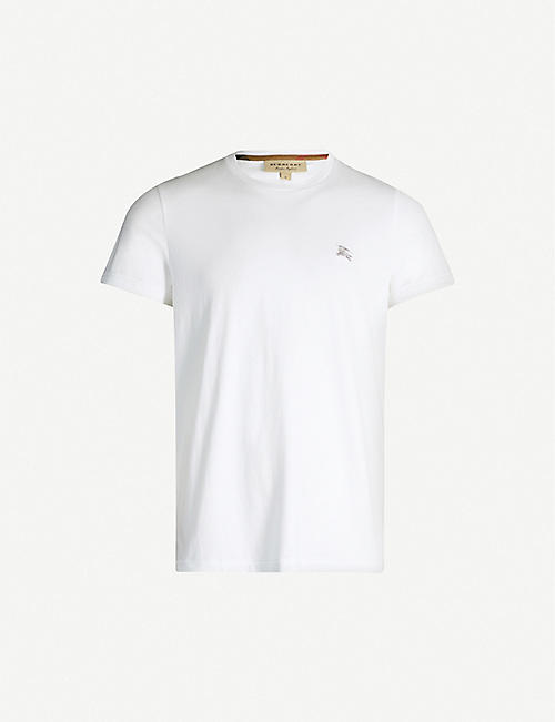 BURBERRY Joeforth crewneck cotton-jersey T-shirt