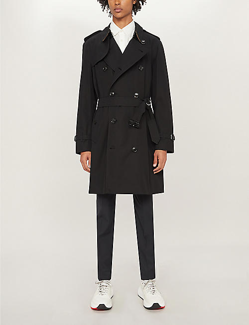 BURBERRY Chelsea cotton-gabardine trench coat