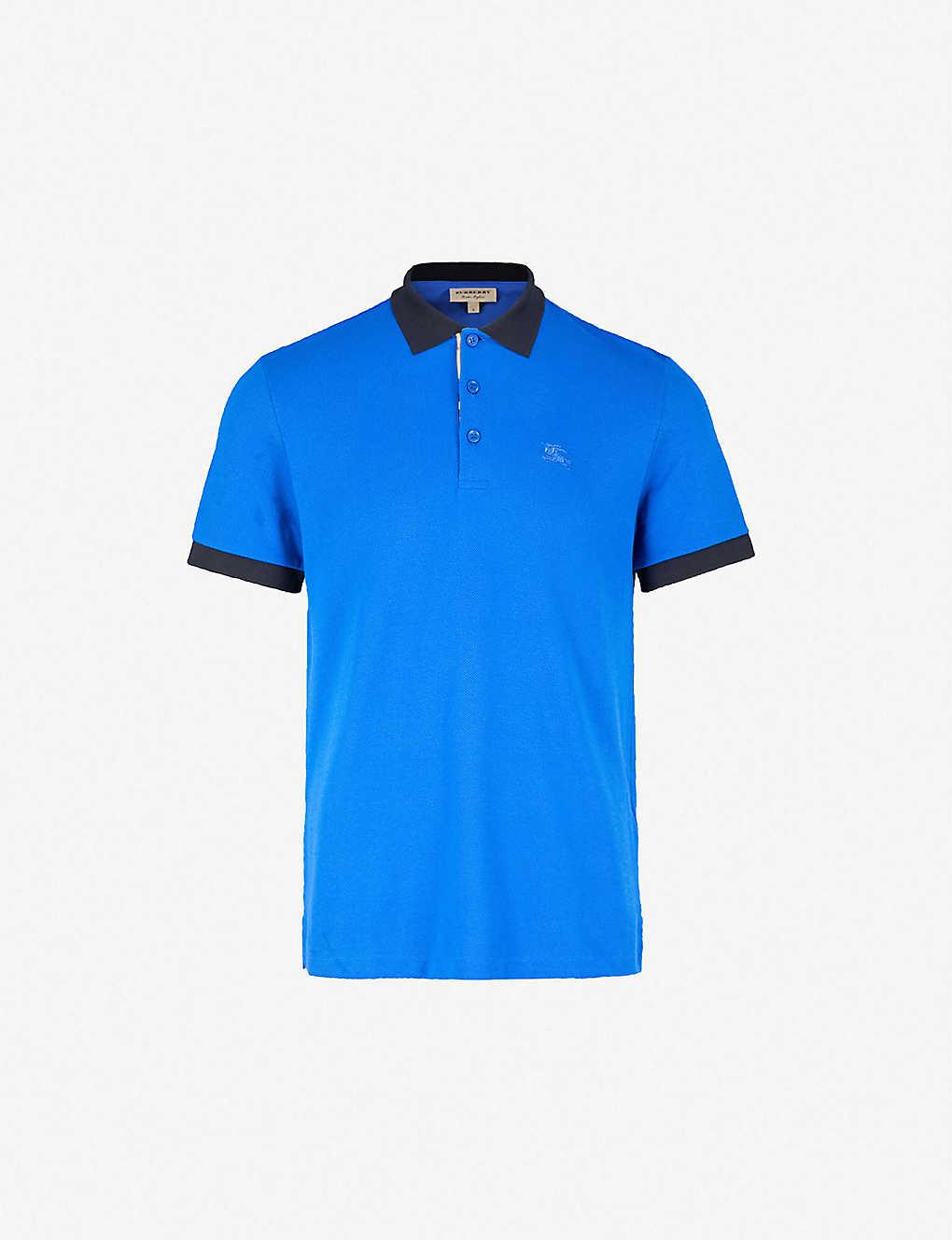 b82d88c4 BURBERRY - Hartford cotton-piqué polo shirt | Selfridges.com