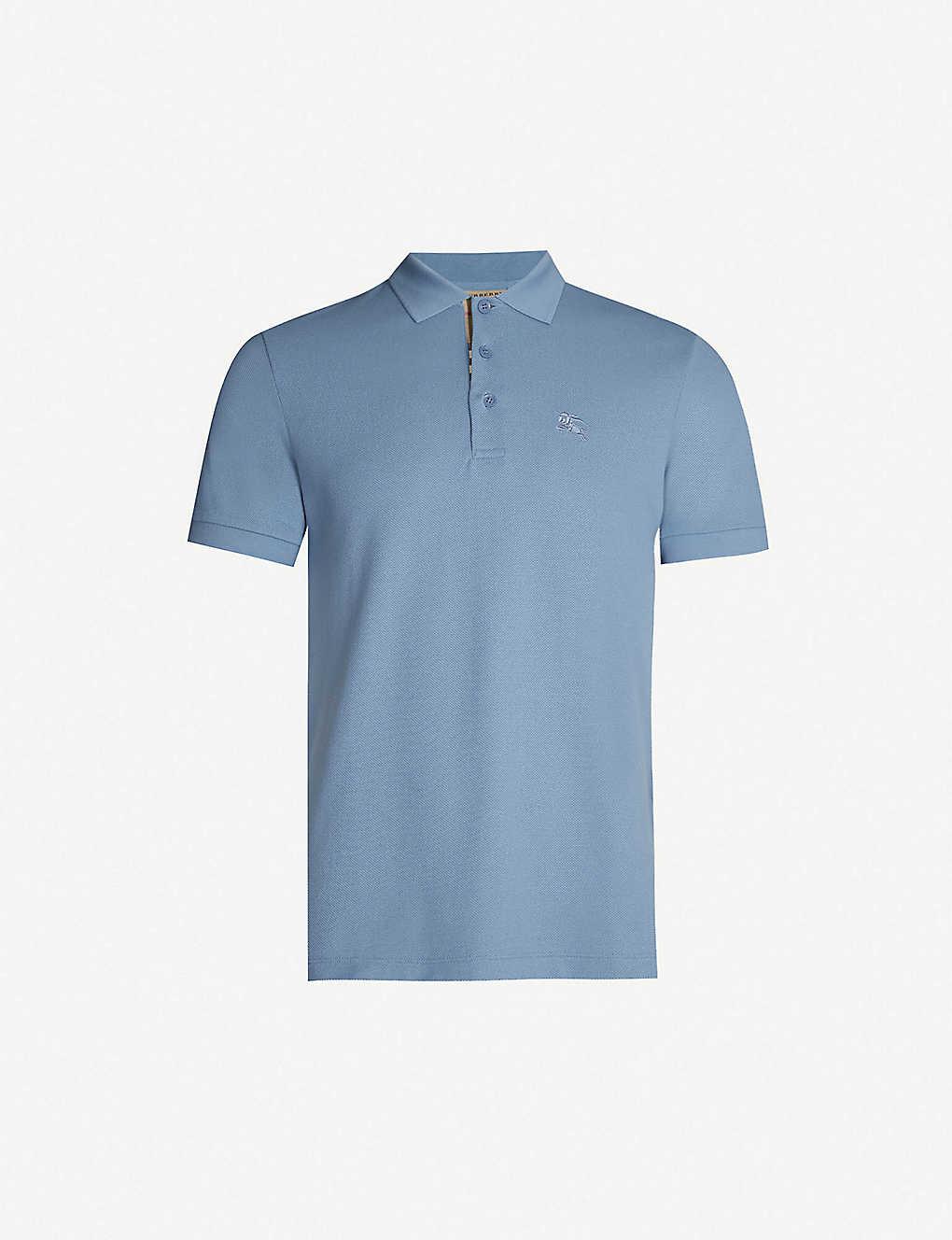 1d2a75f6 BURBERRY - Hartford checked cotton piqué polo shirt | Selfridges.com