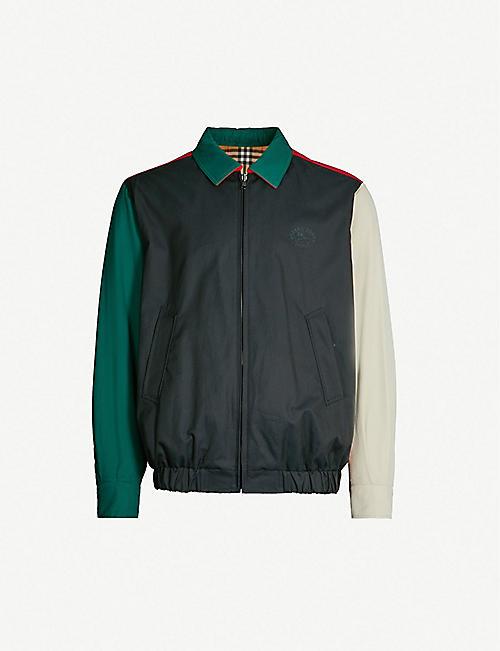 Designer Pea Coat   Designer Mens Coats Jackets Canada Goose More Selfridges