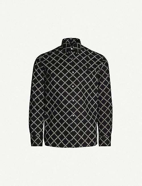 c99e156e7 BURBERRY Strental regular-fit cotton shirt