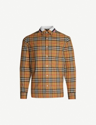 BURBERRY Edward regular-fit cotton shirt