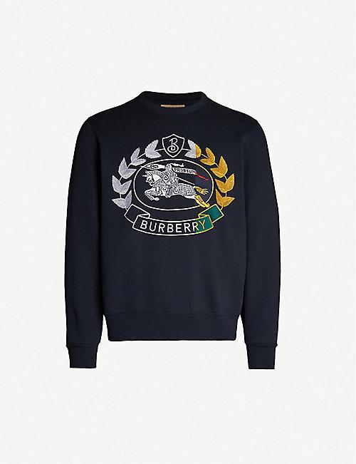 47ed07c03545 BURBERRY Renshaw jersey sweatshirt