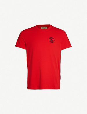 BURBERRY Jenson cotton-jersey T-shirt