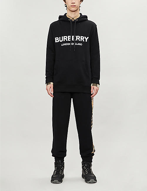 BURBERRY Lexstone cotton hoody