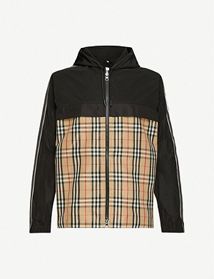 BURBERRY Compton checked shell jacket