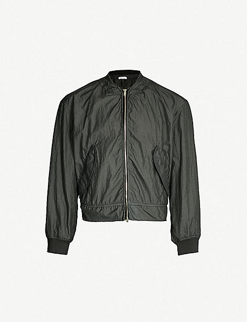 460653aff JIL SANDER Seatlle creased shell bomber jacket