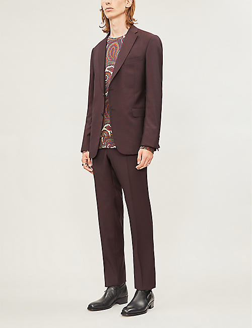 ETRO Paisley-print cotton-blend jersey jumper