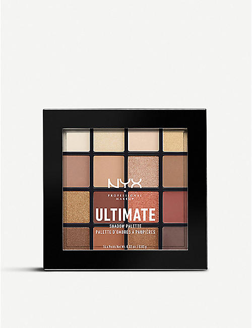 NYX PROFESSIONAL MAKEUP Ultimate Eyeshadow Palette Warm Neutrals 13.2g