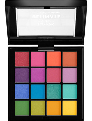 NYX PROFESSIONAL MAKEUP Ultimate Eyeshadow Palette Brights 13.2g