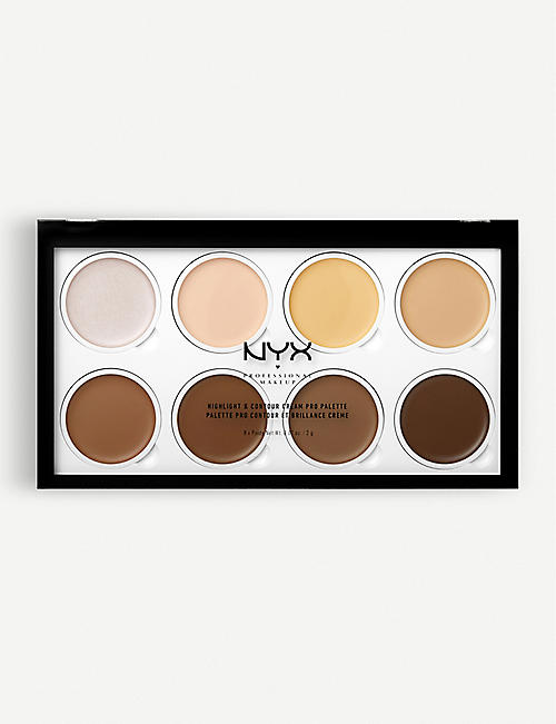 NYX PROFESSIONAL MAKEUP Highlight & Contour Cream Pro Palette
