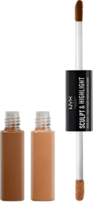 NYX PROFESSIONAL MAKEUP Sculpt & highlight face duo