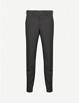 TIGER OF SWEDEN: Gordon slim-fit wool trousers