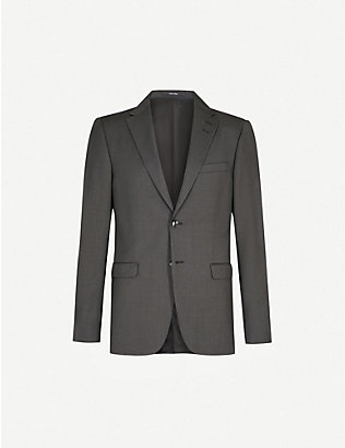 TIGER OF SWEDEN: Slim-fit wool blazer