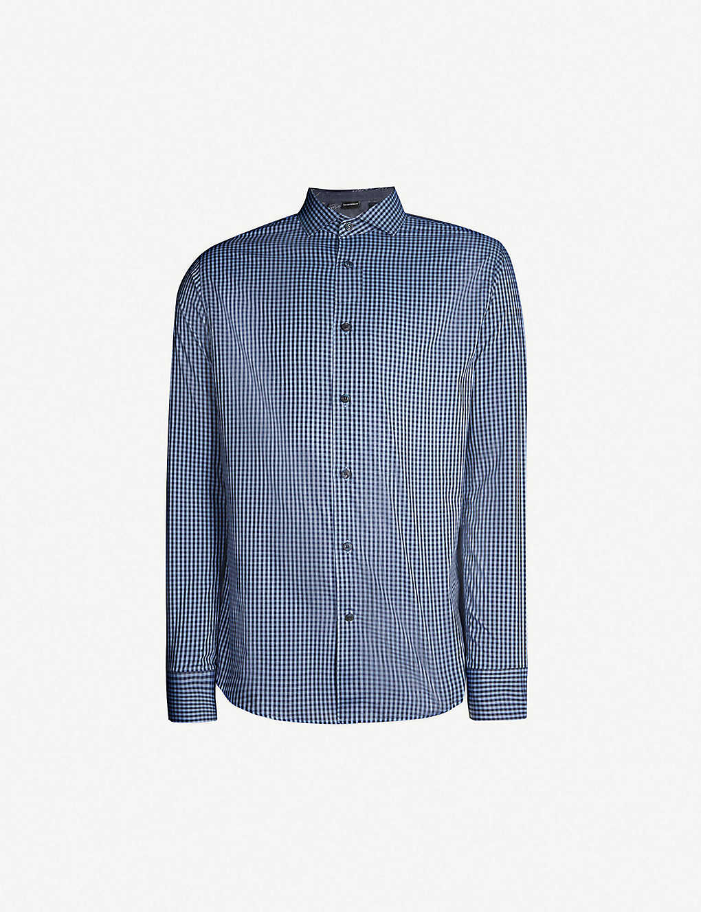 932ffa4d4d5 TIGER OF SWEDEN - Farrell slim-fit gingham cotton shirt | Selfridges.com