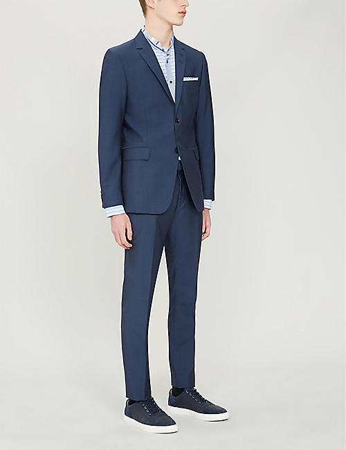TIGER OF SWEDEN Slim-fit wool and mohair-blend blazer