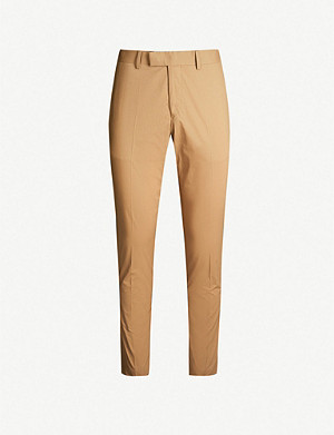 TIGER OF SWEDEN Tordon regular-fit straight-leg cotton-blend trousers