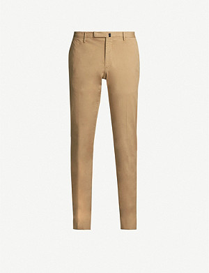 SLOWEAR Royal Batavia slim-fit stretch-cotton trousers