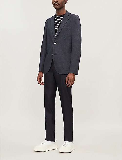 SLOWEAR Wool and cotton-blend jacket