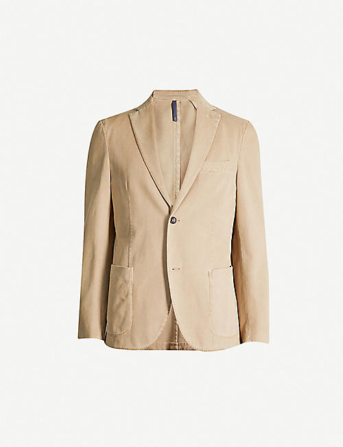 SLOWEAR Cotton and cashmere-blend jacket