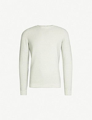 SLOWEAR Fine-knit cotton-blend jumper